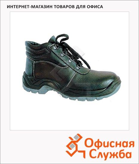 фото: Ботинки универсальные м/ж Worker Босс 9260 р.46 черные