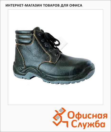 фото: Ботинки демисезонные Worker Бригадир 9053 р.39 черный