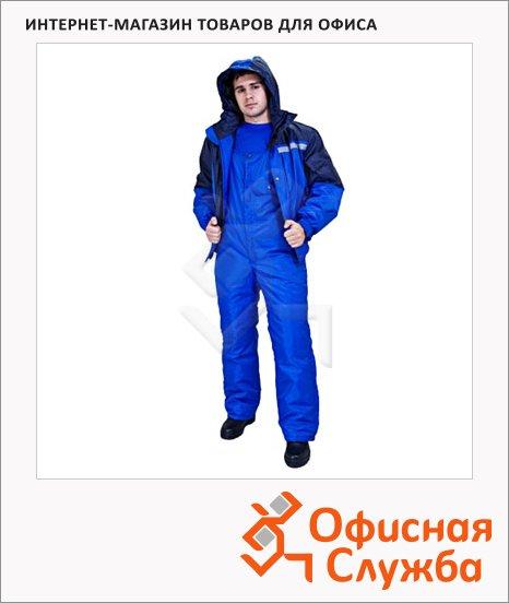 Костюм рабочий летний Стим (р.60-62) 182-188, сине-васильковый, с СОП