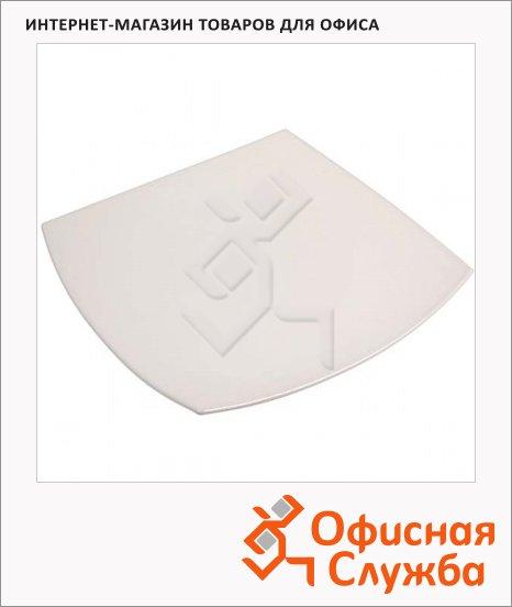 фото: Тарелка обеденная Luminarc Quadrato белая 26 х 26см