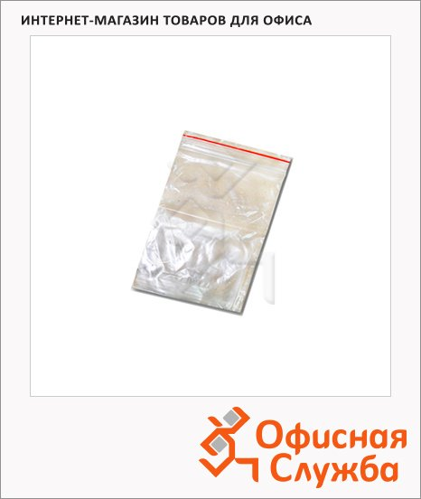 фото: Пакеты с замком Zip Lock 12х17см 32мкм, 100 шт/уп