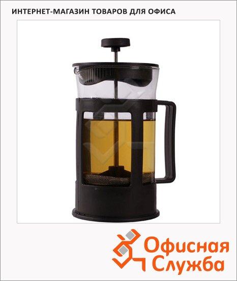 Чайник заварочный френч-пресс Irit 600мл, стекло/металл, FR-06-014