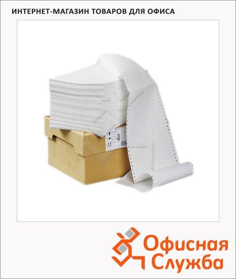 Перфорированная бумага Mega Office Стандарт 240х305мм, белизна 90%CIE, с неотрывной перфорацией, 1500шт