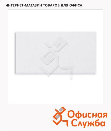 фото: Конверт почтовый Ecopost Е65 белый 110х220мм, 80г/м2, 1000шт, стрип