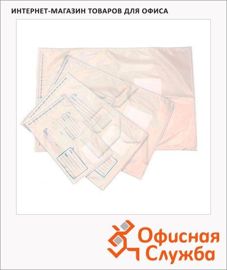 фото: Пакет почтовый полиэтиленовый С4 белый 229х324мм, 70мкм, 1000шт, стрип, Куда-Кому