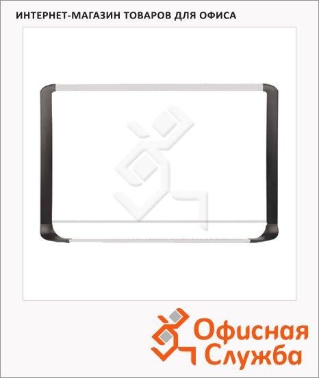 Доска магнитная маркерная Bi-Office Premium 90х120см, белая, лаковая, алюминиевая рама
