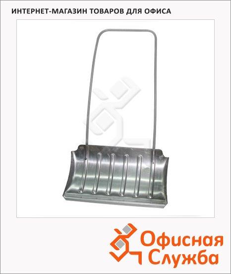Лопата-скрепер для снега 75х42см, алюминиевый, усиленный