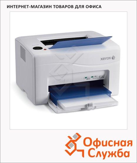 Принтер лазерный Xerox Phaser 6000, А4, 12 стр/мин, 64 Мб