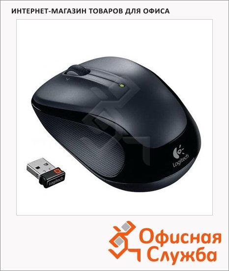 Мышь беспроводная оптическая USB Logitech Wireless Mouse M325, 1000dpi, черная