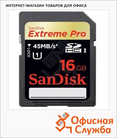 фото: Карта памяти Extreme Pro SDHC 16Gb, 45мб/с