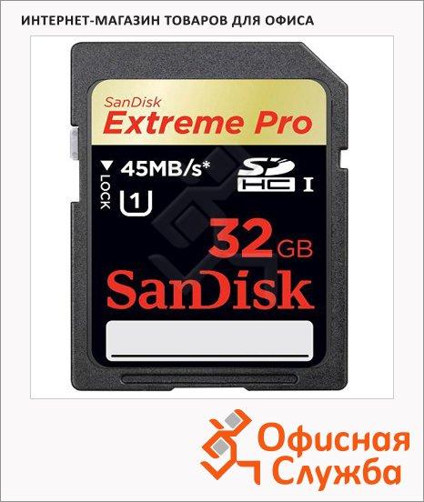Карта памяти Sandisk Extreme Pro SDHC, 32Gb, 90мб/с