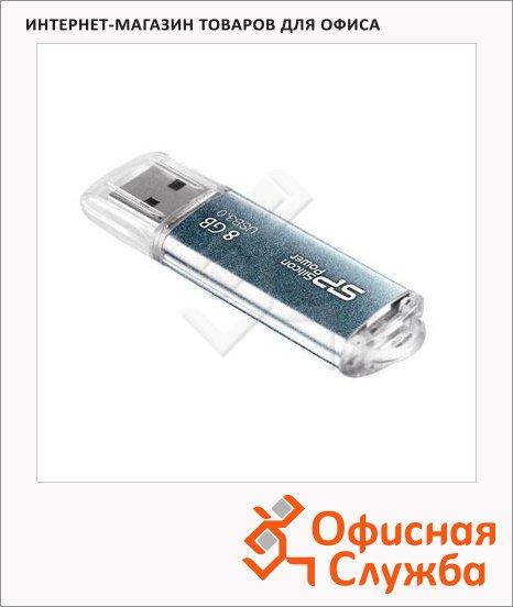 фото: Флеш-накопитель Silicon Power Marvel M01 8Gb 44/10 мб/с, синий