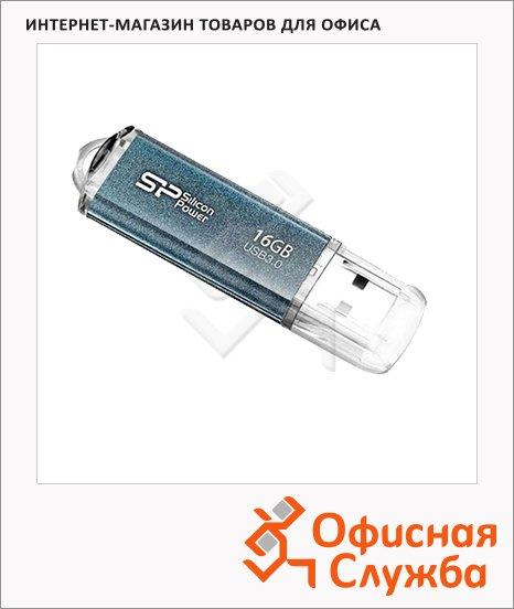 фото: Флеш-накопитель Silicon Power Marvel M01 16Gb 59/11 мб/с, синий