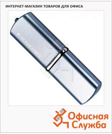 Флеш-накопитель Silicon Power Luxmini 720, 16Gb, 20/8 мб/с, синий