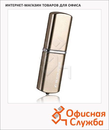 Флеш-накопитель Silicon Power Luxmini 720 8Gb, 20/8 мб/с, бронзовый