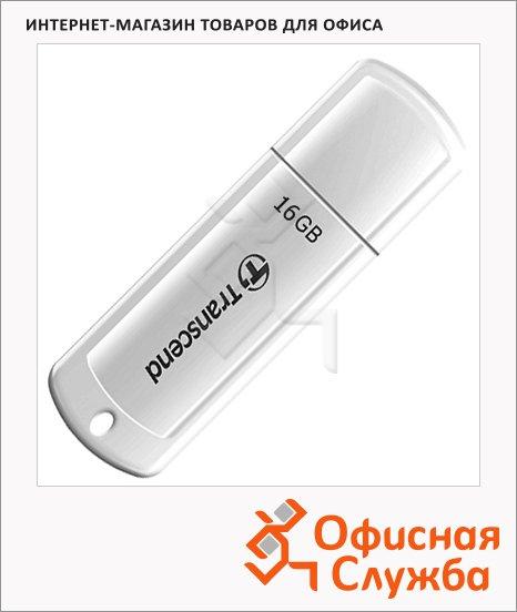 Флеш-накопитель Transcend JetFlash 370 16Gb, 20/15 мб/с, белый