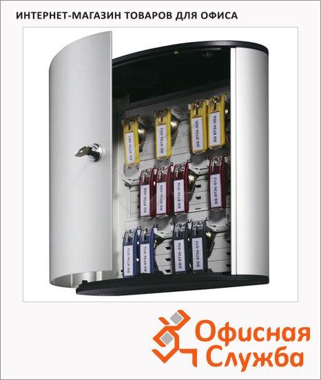 Шкафчик для ключей Durable на 18 ключей, ключевой замок, 18 брелоков, 302х118х280мм, 1951-23