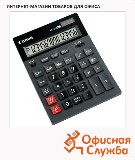 Калькулятор настольный Canon AS 888, 16 разрядов