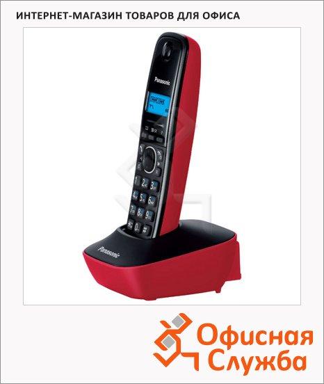 фото: Радиотелефон Panasonic KX-TG1611RU черно-красный
