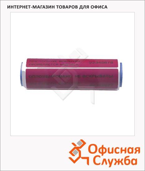 Этикетки-пломбы красные, 100/20, 1000 шт/рул, для индексации