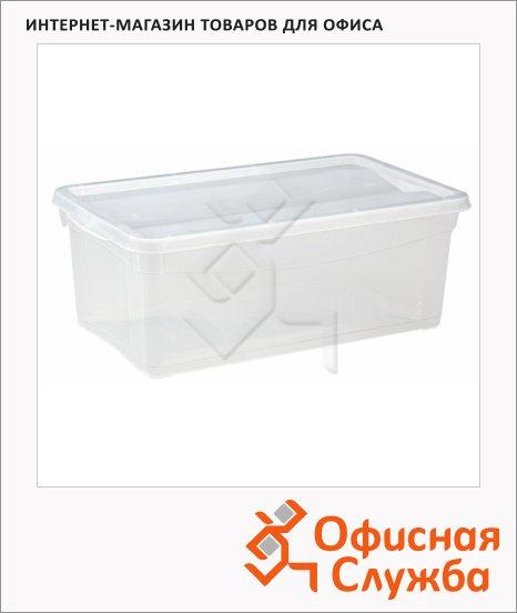 Ящик для хранения с крышкой 5л, 33х19х12см