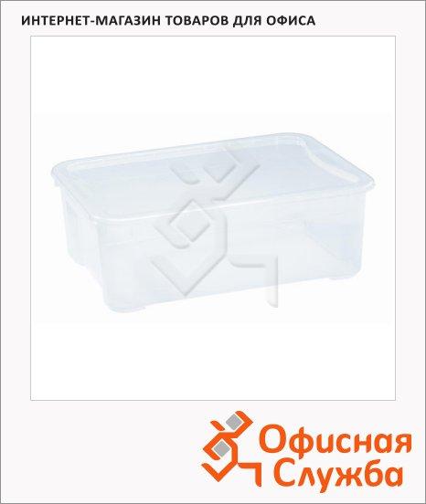 Ящик для хранения с крышкой 40л, 55.5х39х19см
