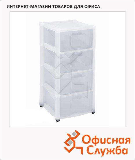 Ящик для хранения 4 выдвижные секции