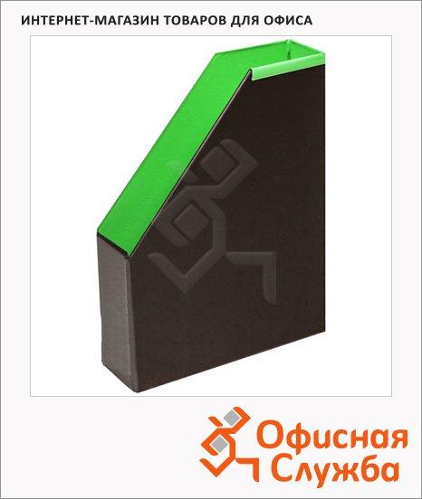 фото: Накопитель вертикальный для бумаг Bantex А4 70мм, салатовый