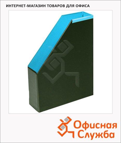 фото: Накопитель вертикальный для бумаг Bantex А4 70мм, голубой