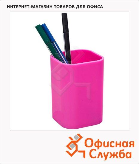Подставка для ручек Attache 100х67мм, розовая