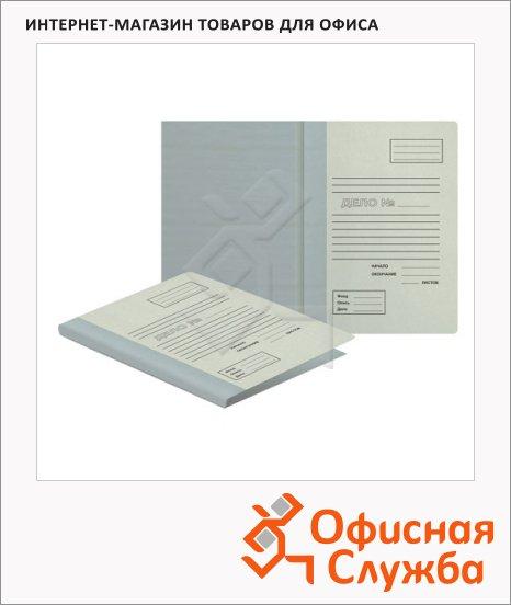 фото: Архивная папка для переплета бурая А4, до 850 листов