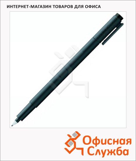 Маркер для чистых помещений Edding 8011 черный, 0.6мм, круглый наконечник