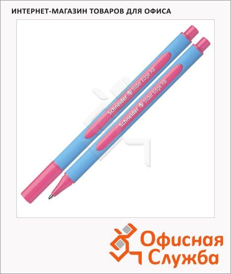 Ручка шариковая Schneider Slider Edge XB розовая, 0.9мм