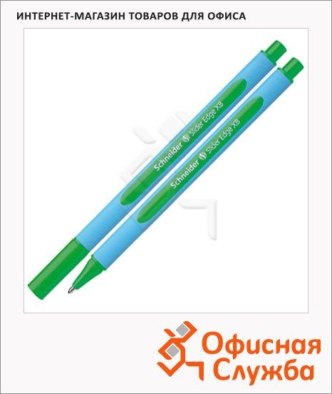 фото: Ручка шариковая Schneider Slider Edge XB зеленая 0.9мм
