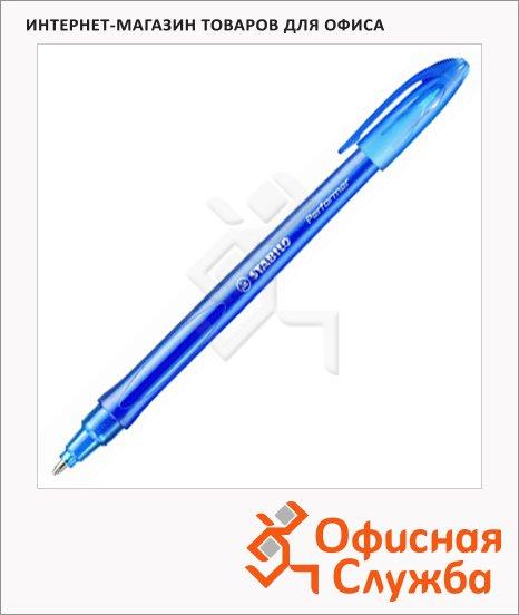 фото: Ручка шариковая Stabilo Perfomer 898 синяя 0.38мм