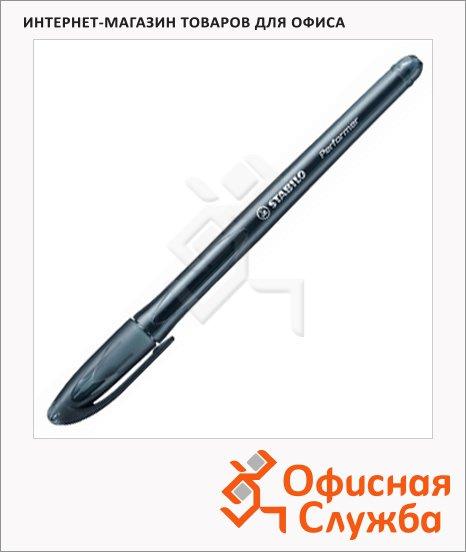 Ручка шариковая Stabilo Perfomer 898 черная, 0.38мм