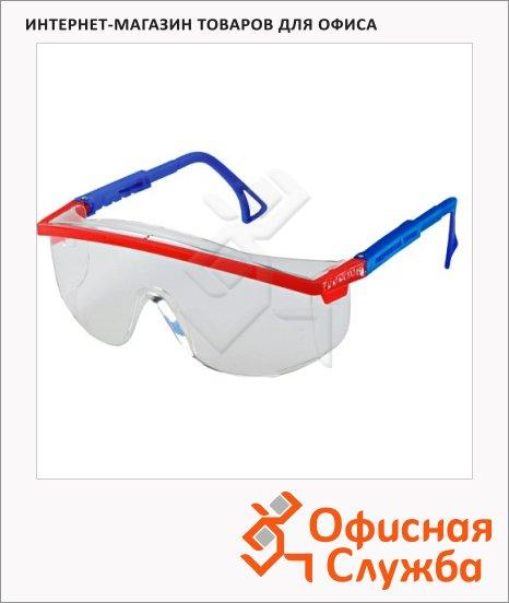 Очки защитные сварочные Росом З О37 УниверсалТитан прозрачные, открытые, 13711