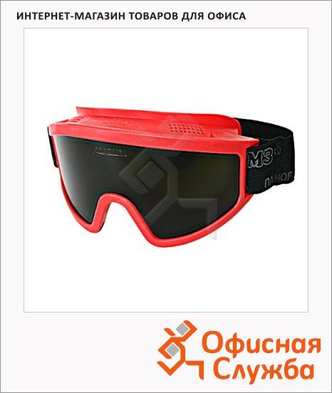 Очки защитные Росом З ЗП2В2 SuperPanorama дымчатые, закрытые, 30228