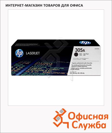 Тонер-картридж Hp 305A CE410A, черный