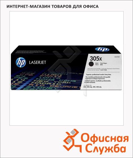 Тонер-картридж Hp CE410X, черный повышенной емкости