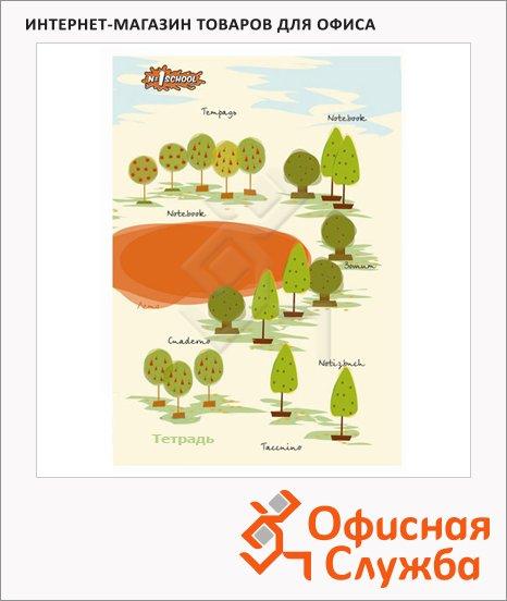 фото: Тетрадь общая Креатив Осенний парк А5, 48 листов, в клетку, на склейке, картон