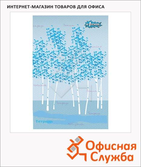 фото: Тетрадь общая Березовая роща А5, 48 листов, в клетку, картон