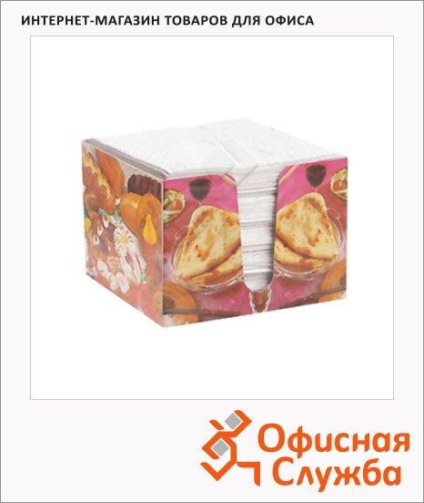 Салфетки в спендере белые, 24х24см, 1 слой, 100шт
