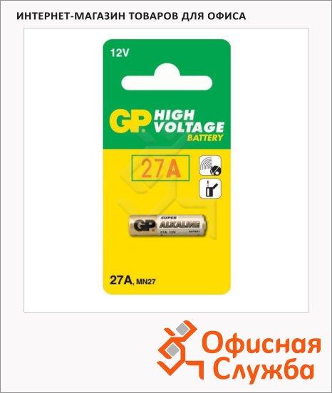 Батарейка Gp 27A, 12В, литиевая
