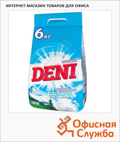 Стиральный порошок Deni 6кг, для белого