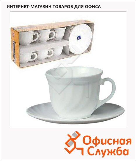 фото: Набор чайный Luminarc Trianon 220мл 6 персон