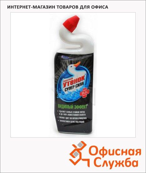Чистящее средство Туалетный Утенок супер сила 0.75л, видимый эффект, гель