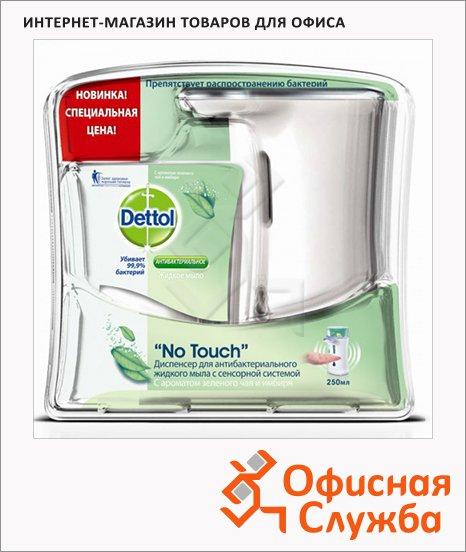 Диспенсер для мыла в картриджах Dettol сенсорный настольный, +жидкое мыло, 250мл
