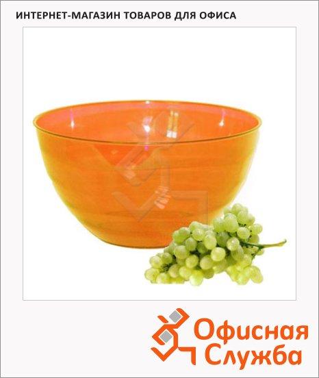 фото: Салатник Аква 0.5л оранжевый