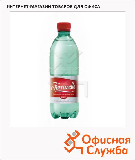 фото: Вода минеральная Ferrarelle газ 500мл, ПЭТ